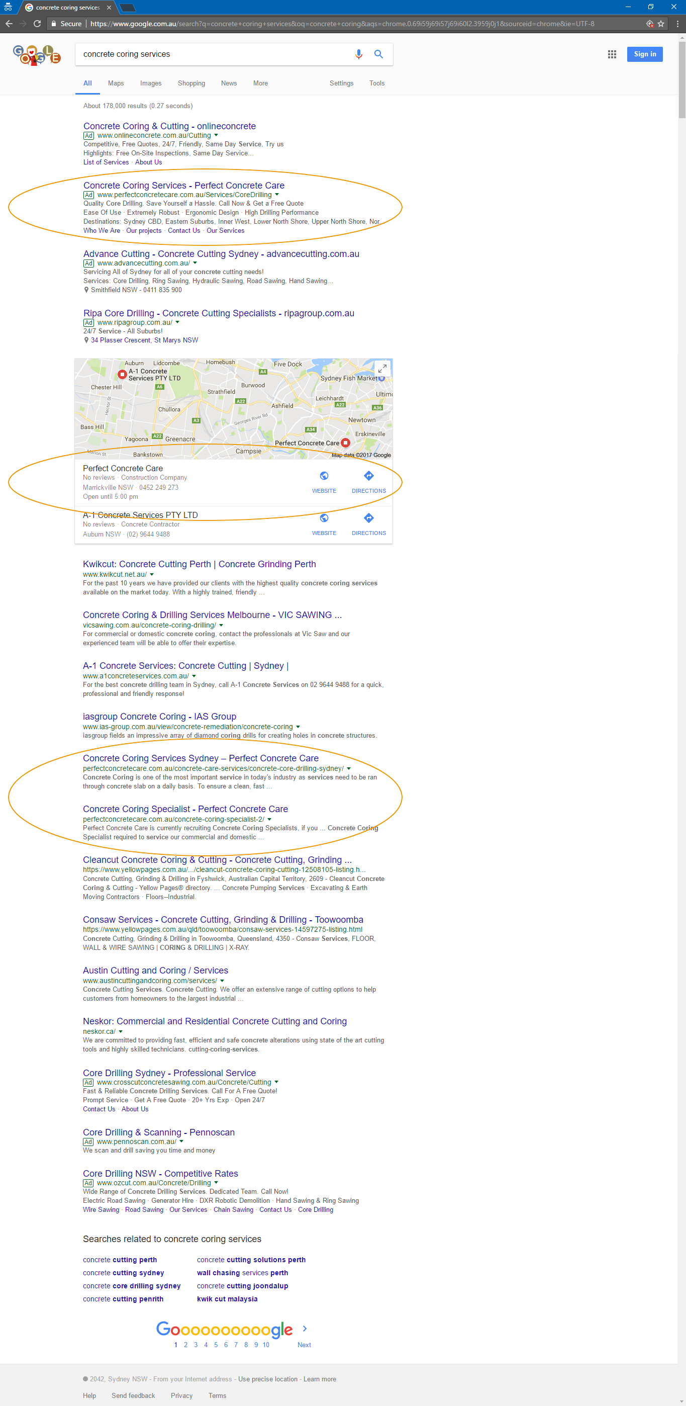 Successful CPC & SEO Campaign – Sydney Online Marketing