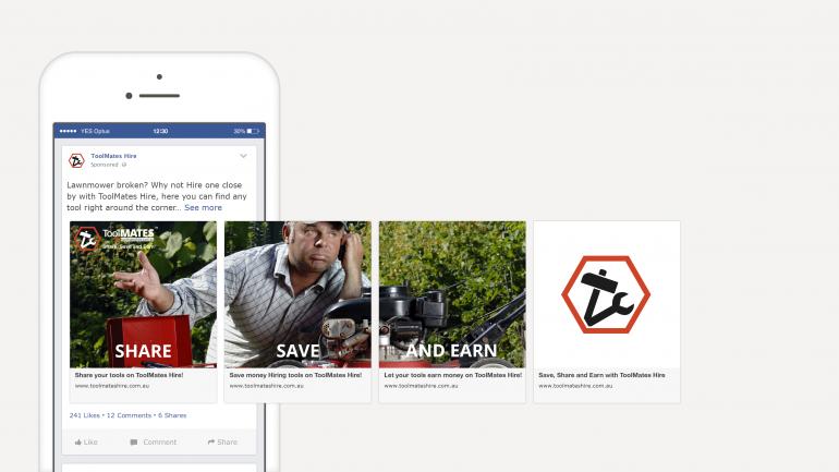 Facebook Ad Carousel ToolMates